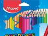 Bojice drvene Color Peps 36/1 Maped 832017