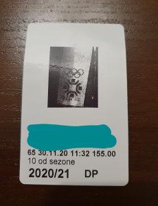 Ski karta - Ski pass - 8 dana u sezoni
