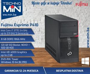 Fujitsu P410, i7 3770 3.4/8/120SSD500/DVD-RW/Tower