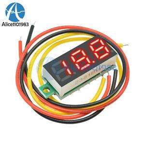 "Mini DC 0-100V 0.28"" 3-Digital Voltmetar LED"