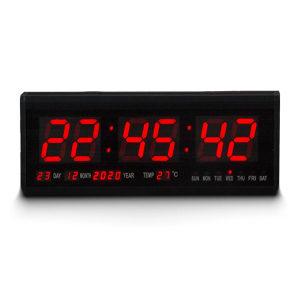 Led digitalni sat veliki zidni sa temperaturom