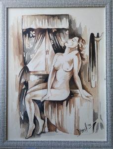Umjetnička slika, akademski slikar