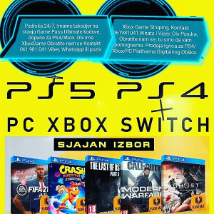 (PS4) - IGRE, (FIFA 21..), PS PLUS, DOPUNE - (AKCIJA)