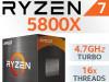AMD Ryzen 7 5800X 16x3.8-4.7GHz AM4 Box AKCIJA