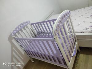 Dječji krevetić i ormar