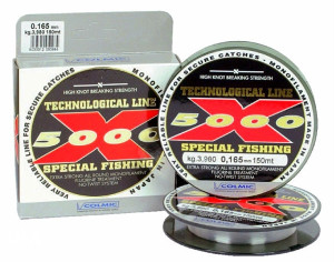 Colmic NYL X-5000 0.20mm 150m