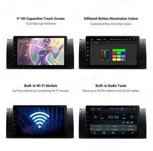 Multimedija navigacija BMW X5 E39