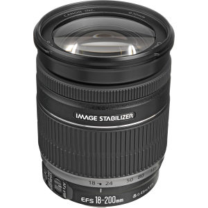 CANON DSLR objektiv EFS 18-200mm 1:3.5.5.6IS...