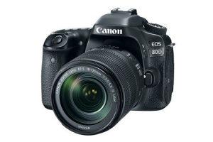 CANON DSLR fotoaparat 80D EF18-135IS USM...