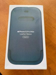iPhone 12 Pro Max futrola Leather Sleeve