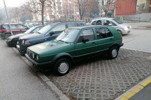 Volkswagen Golf 2 daljinsko parking senzori