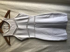 Bijela casual haljina