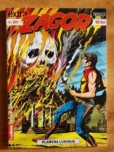 """Zagor stripovi """"Besmrtni Zagor"""" i """"Plamena lobanja"""" br."""