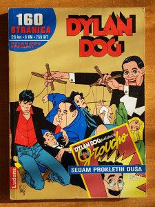 """Strip Dylan Dog """"Sedam prokletih duša"""""""