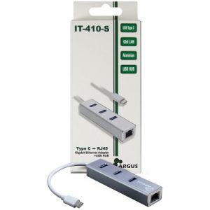 AC Adapter IT-410-S USB Type C - USB HUB/ Gbit LAN