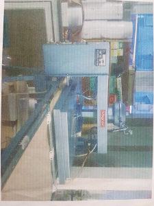 Fiksir mašina za tekstilnu industriju sa kompresorom