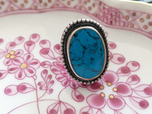Srebreni prsten Navajo Američki