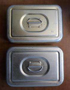Metalna kutija za sterilizaciju istrumenata