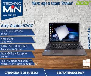 Acer 5741z, Intel P600 1.87/4/120SSD/DVD-RW/WEBCAM