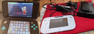 Nintendo Wii U +  Nintendo 3DS (2 konzole)