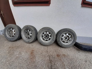felge gume 13 VW Golf 1 2 4x100
