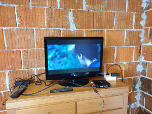 Lcd tv lg 22 incha hdmi