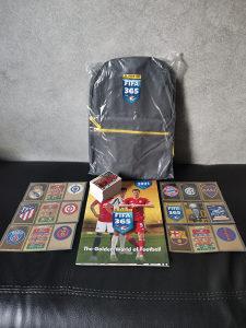 PANINI 365 - ruksak, album i lot od 150 sličica