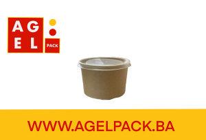 EKO posudice za supu za poklopcem  16OZ    25 kom