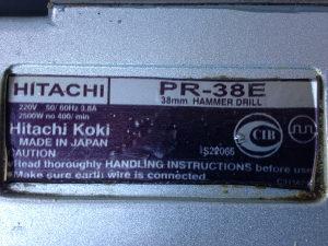 Hilti Hitachi