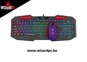 Tastatura i Miš X-TRIKE ME MK-503KIT Gaming (12581)