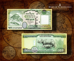 100 Rupees 2019 UNC Nepal