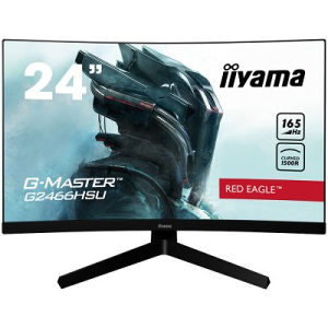 "Iiyama Monitor Gaming G2466HSU-B1 23.6"" Curved 165Hz"