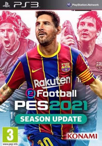 PES 21 2021 PS3 PLAY STATION 3