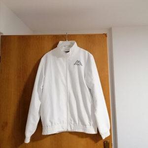 Kappa White Track Jacket FTY#26729
