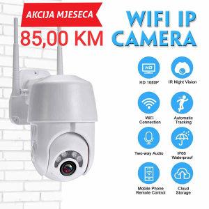 Video nadzor wi fi cloud camera 360 eyeS
