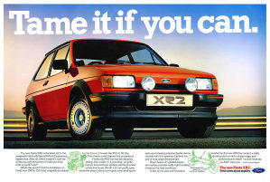 RARITET - Sportske ratkape Ford Fiesta XR2 1983 - 1989