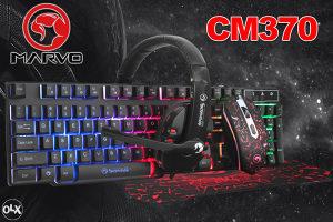 MARVO CM370 4-in-1 GAMING Tast miš slušalice podloga