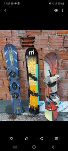 Snowboard daska daske (sva tri kom)