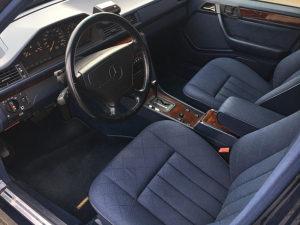 Mercedes W124 Daimler fabrička sjedišta