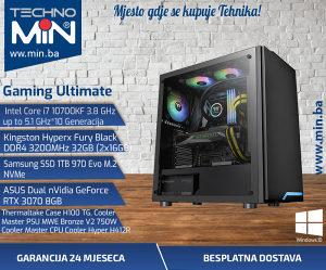 Gaming Ultimate, i7 10700KF 3.8/32/1TBSSD/RTX30708GB