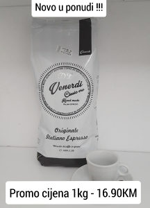 Espresso kafa Venerdi Clasic