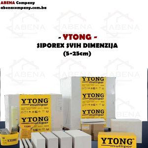 YTONG siporex blokovi