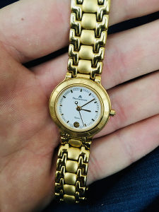 Sat Maurice Lacroix swiss made Saphire Crystal Waterres