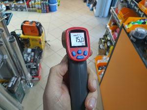 Laserski termometar