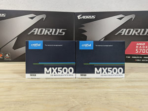 SSD Crucial MX500 500GB 3D NAND