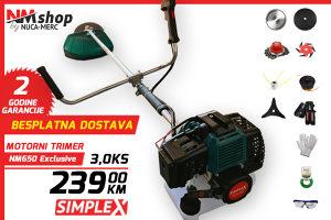 Trimer motorni Simplex NM650 3KS Exclusive