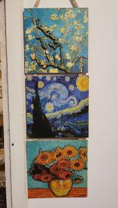 Zidna dekoracija Van Gogh