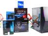 Gaming PC Hornet; i3-10100F; RX 560; 120GB SSD 8GB DDR4