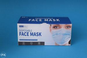100 hirurskih i 10 KN95 maski kombinacija