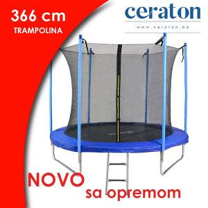 TRAMPOLINA 366CM - AKCIJA - 063 850 837